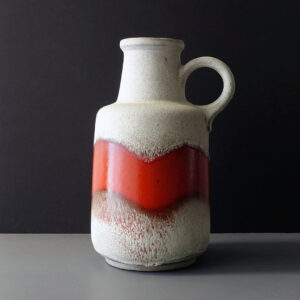 west-german-scheurich-large-white-red-floor-vase