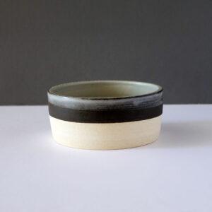 low-flat-stripe-top-bowl