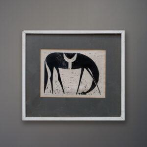 henry-newman-horse-woodcut-1962