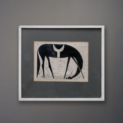 henry-newman-horse-woodcut-1962