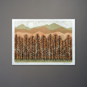 joe-ardourel-autumn-landscape-silkscreen-print-1970s