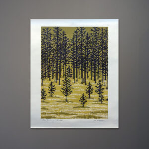 joe-ardourel-pine-meadow-silkscreen-print-1970s