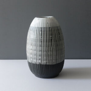 very-large-sgraffito-black-white-vase
