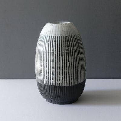 very-large-sgraffito-black-white-vase