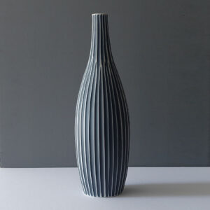 tall-bottle-form-striped-dark-blue-vase