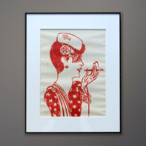 seymour-chwast-push-pin-flapper-woodcut