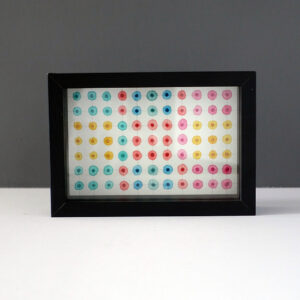 leah-peeks-4x6-colorful-dots-shadow-box-frame