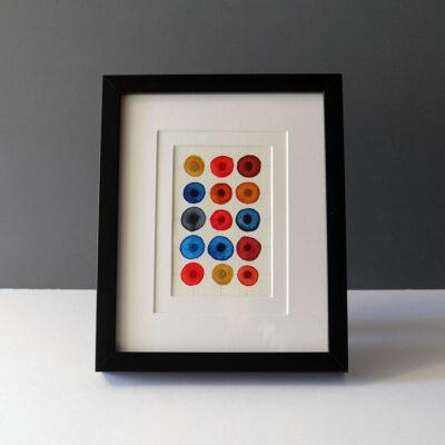 leah-peeks-jewel-tones-4x6-double-mat-black-frame