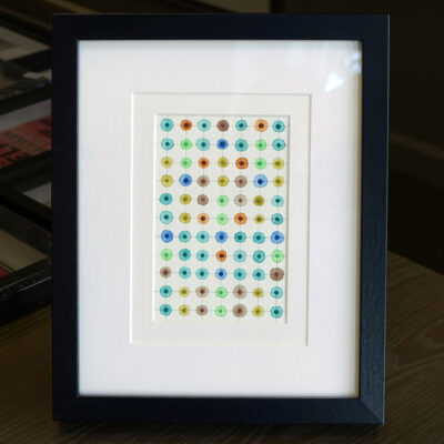 leah-peeks-4x6-colorful-dots-double-mat-frame