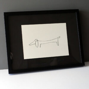 picasso-dachshund-drawing-facsimile