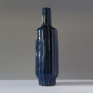 very-tall-blue-ribbed-ceramic-floor-vase2