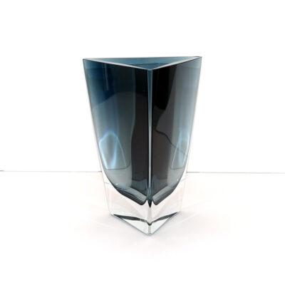krosno-poland-crystal-blue-triangular-vase