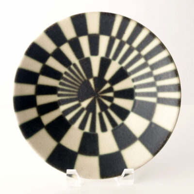 Arabia Finland Target Pattern Platter-1