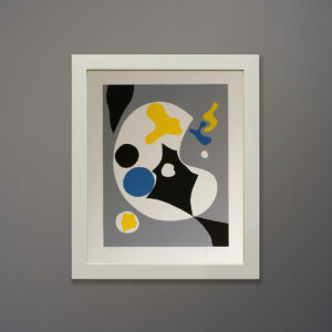 g-becker-abstract-1970s-serigraph-16x20-white-frame