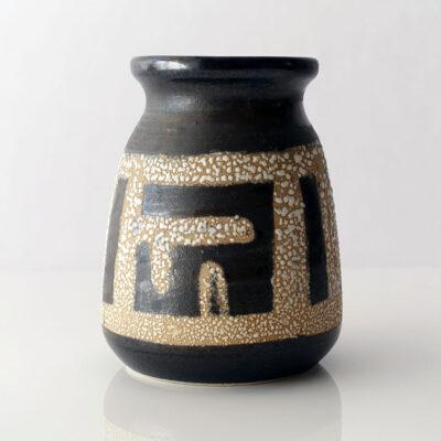 Lapid Israel Tapered Fat Lava Vase-1