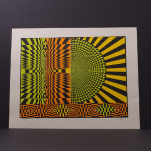 mid-century-modern-op-art-silkscreen-print-hias-16x20