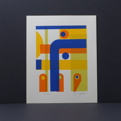 mid-century-modern-abstract-silkscreen-print-caldum-14x17