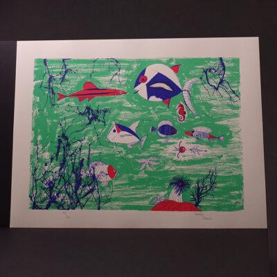 mid-century-underwater-fish-screen-print-arden-18x24