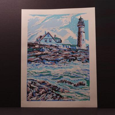 mid-century-modern-lighthouse-silkscreen-print-mercer-18x24