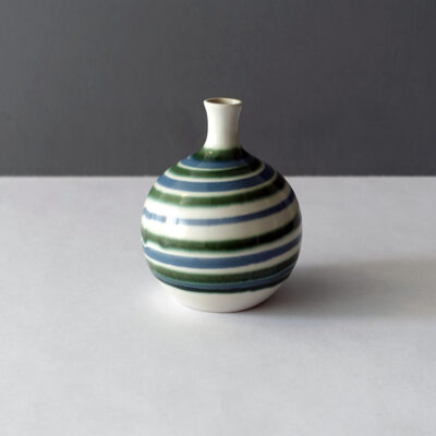 otagiri-japan-vintage-green-striped-weed-pot-vase