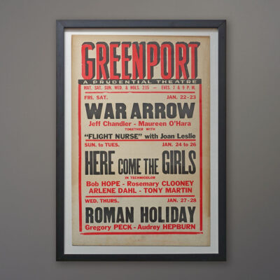 greenport-movie-roman-holiday-poster