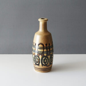 lapid-israel-abstract-glaze-bottle-form-vase