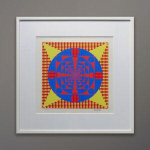 henry-rogers-70s-op-art-square-silkscreen-print