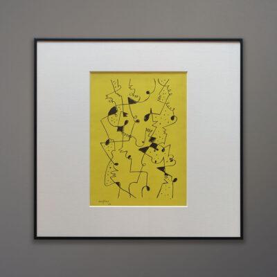 Gillo Dorfles Lithograph Movimento Arte Concreta 1955