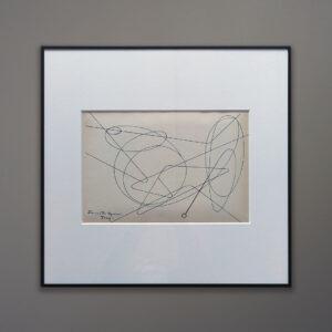 Simonetta Vigevani Jung Lithograph Movimento Arte Concreta 1956