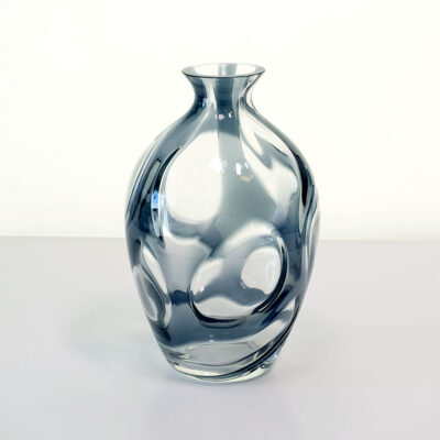 czech-abstract-black-gray-clear-vase