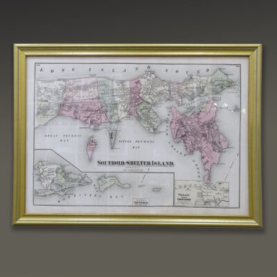 southold-beers-map-gold-frame