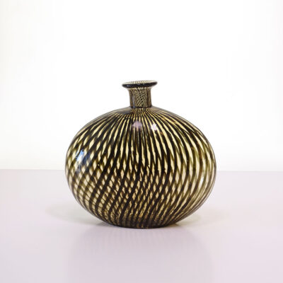Vetro a fili-flask-art-glass-vase-1