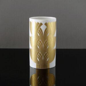 rosenthal-1960s-gold-white-porcelain-vase