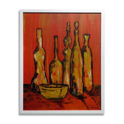 21-137 Carol Shorett 1967 Still Life Painting