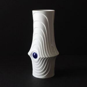 white-op-art-cobalt-dot-vase