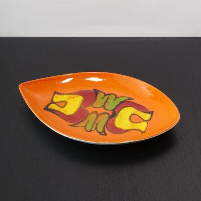 poole-pottery-delphis-orange-spear-platter-01