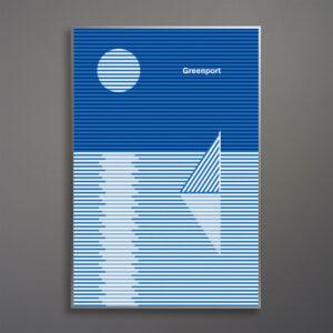 greenport-blue-stripe-sunset-sail