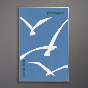 greenport-north-fork-seagulls-poster