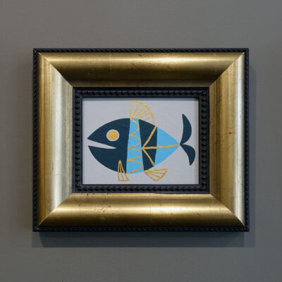 tropicana-fish-painting-vintage-frame
