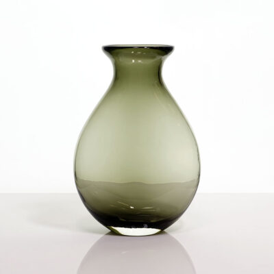 gray-holmegaard-style-art-glass-vase