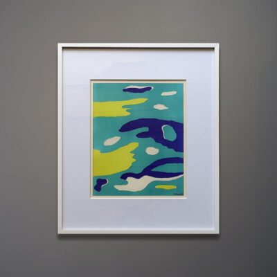 leger-water-print-white-frame