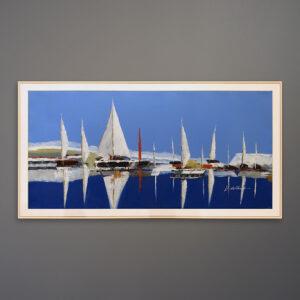 original-k-hillman-sailboat-harbor-painting