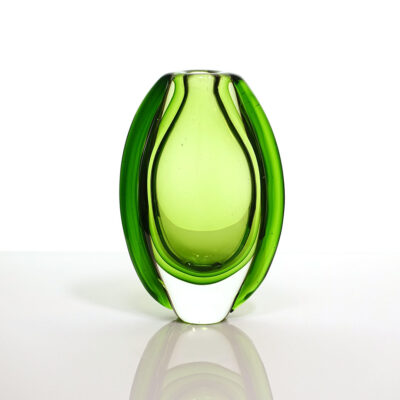 three-color-green-sommerso-bud-vase
