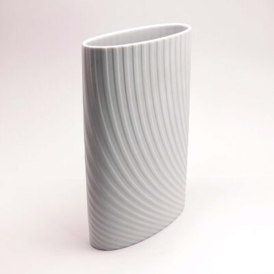 Rosenthal Op Art white vase
