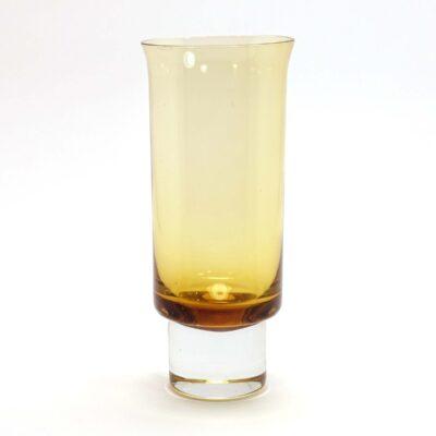 Aseda Glasbruk Amber Flared Vase