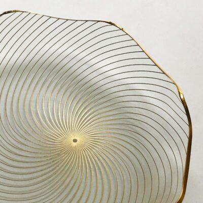 Danish Op-Art Swirl Platter