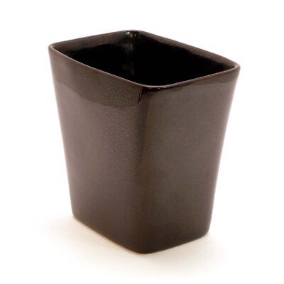 Ballard Black Rectangular Vase-