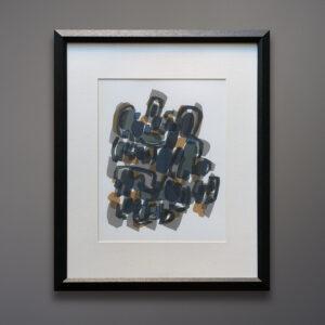 Raoul Ubac 1960 Abstract Print
