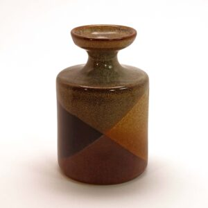 Pottery Craft Medium Cylinder Vase-C2-SQ