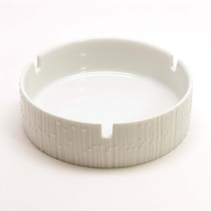 Rosenthal Porcelain Op-Art Ashtray-C1sq